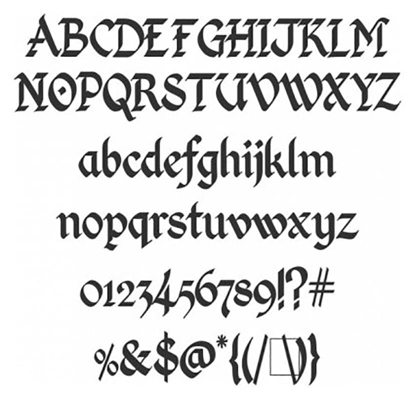 Kingthings-Calligraphica