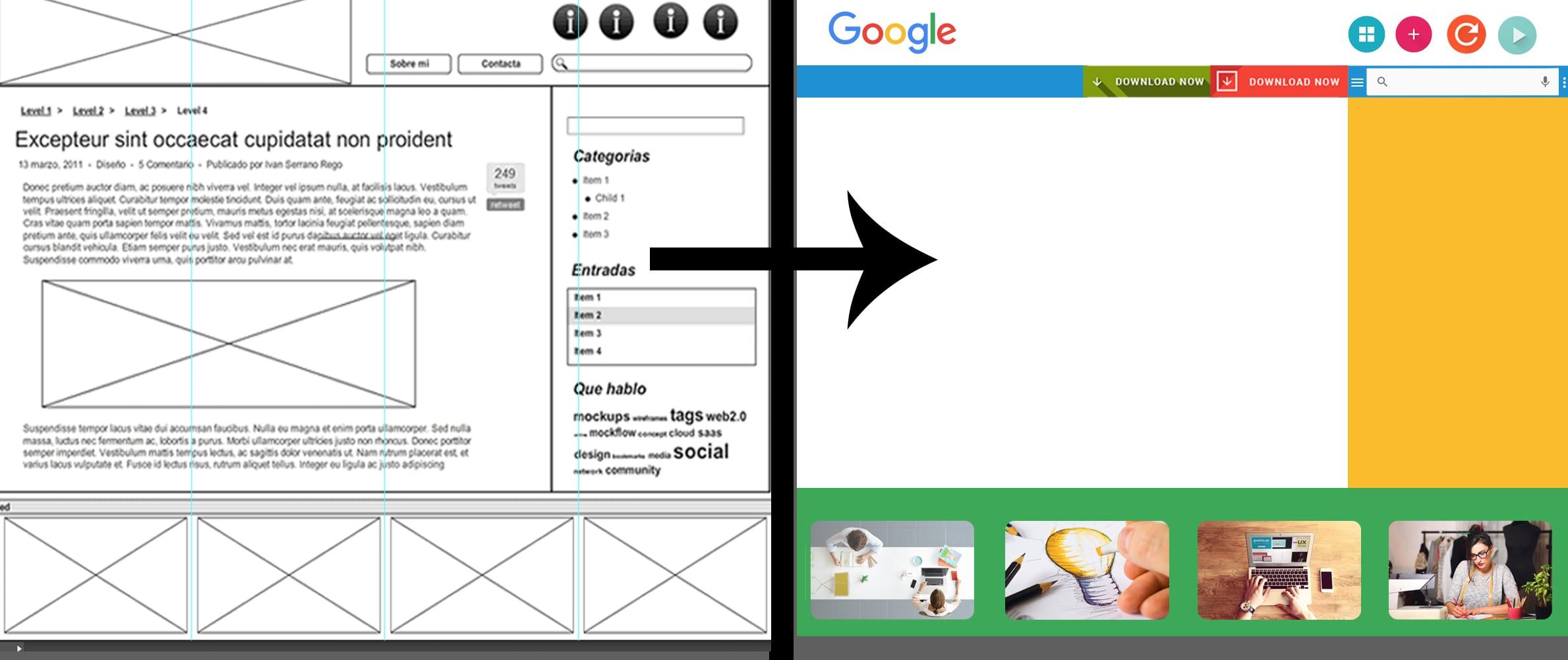 Tutorial: Cómo maquetar una página web con Adobe Photoshop