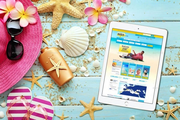 iPad-On-The-Beach-Mockup