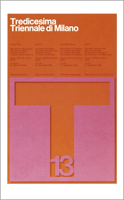 Diseño de Massimo Vignelli