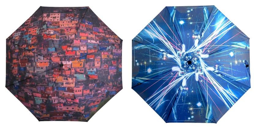 Paraguas creativos