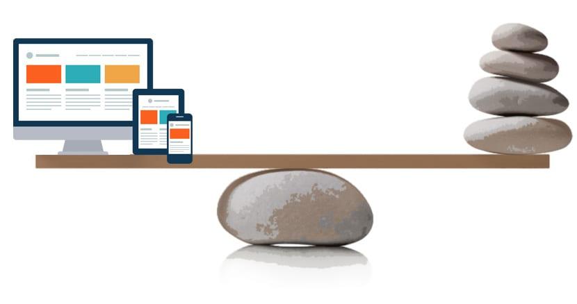 Cómo saber peso web