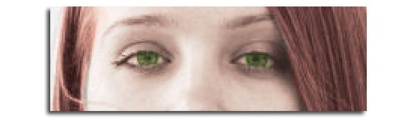 Perfilando ojos