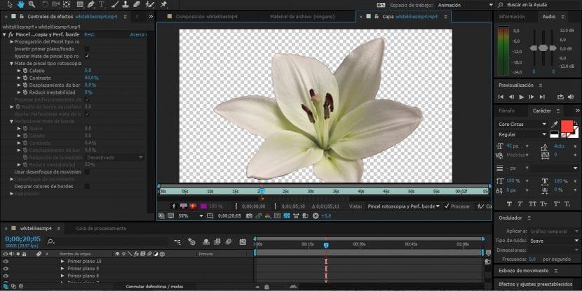 Cómo hacer una Rotoscopia con la herramienta Rotobrush en After Effects CC