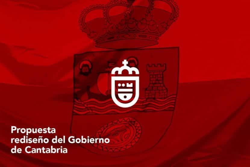 Propuesta por Rafael San Emeterio para nueva imagen corporativa de Cantabria