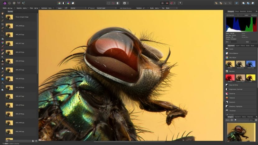 Affinity photo ahora también disponible en Windows