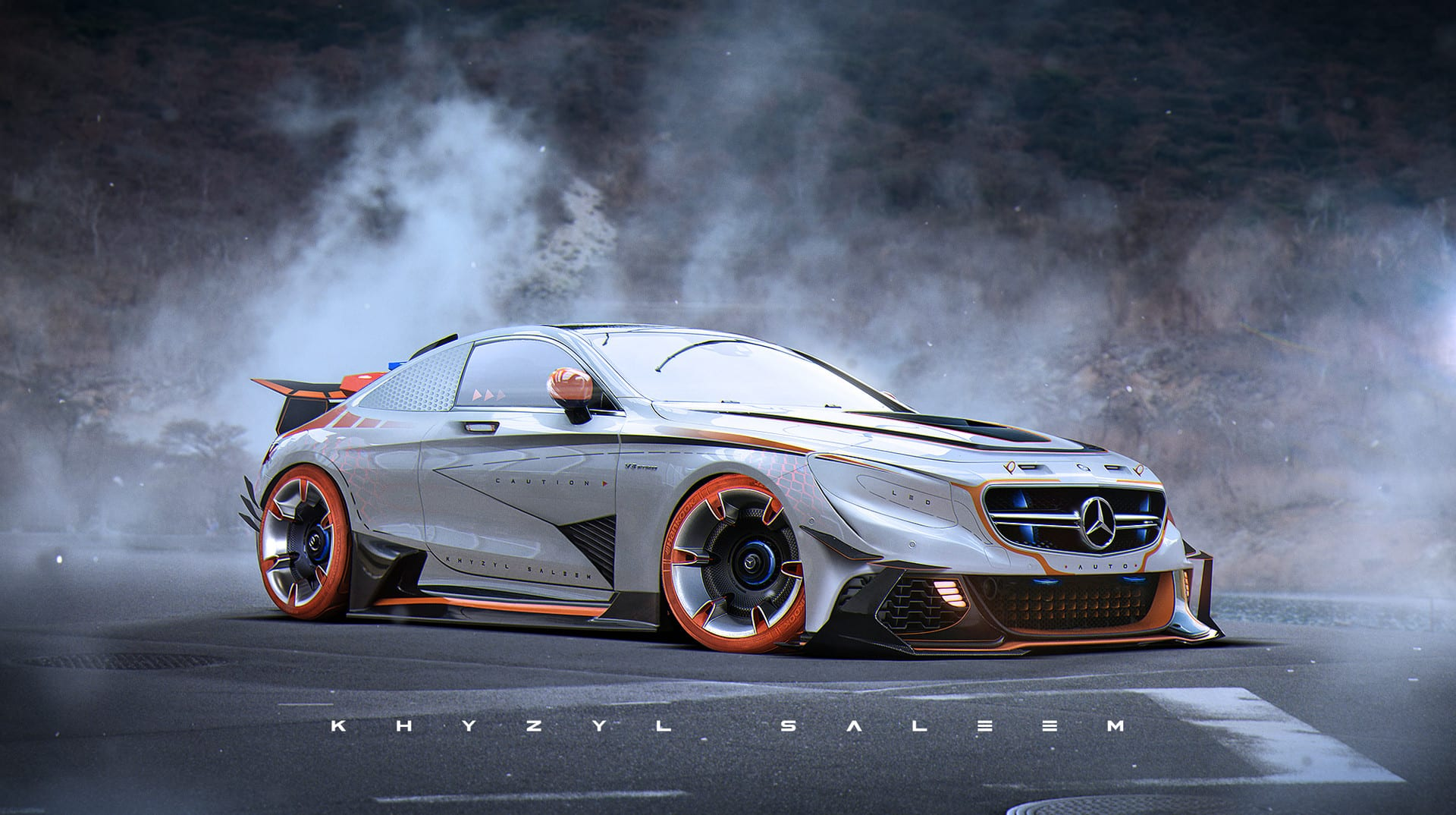 Mercedes creado por Khyzyl Saleem