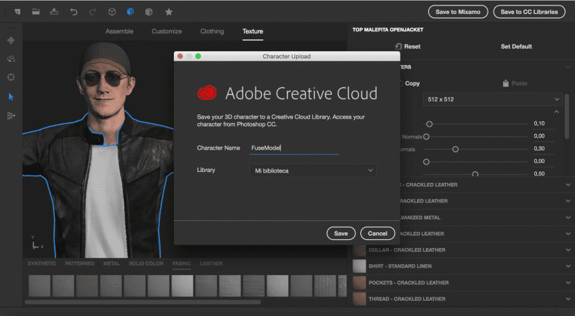 Guardar en adobe fuse