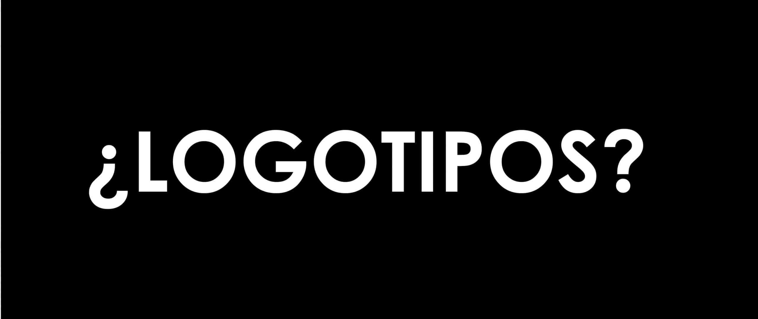 Logotipo es solo tipografía.