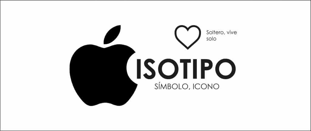 Apple usa un isotipo para representar su marca