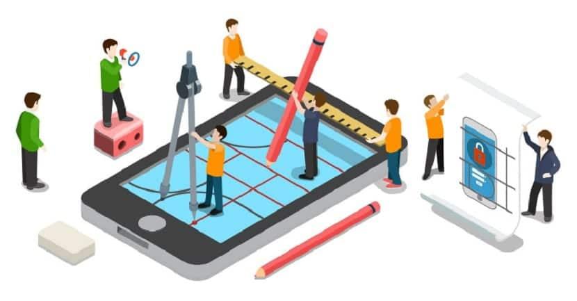 opciones a la hora de disenar app