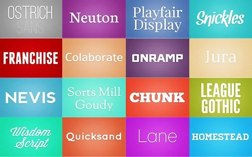 la tipografia del futuro