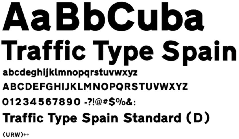 Traffic Type Spain