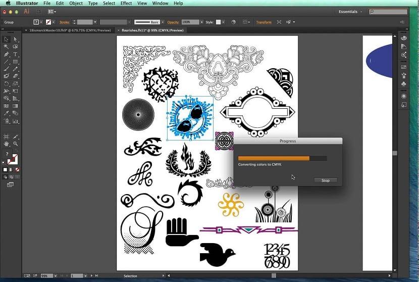 Adobe y FreeHand