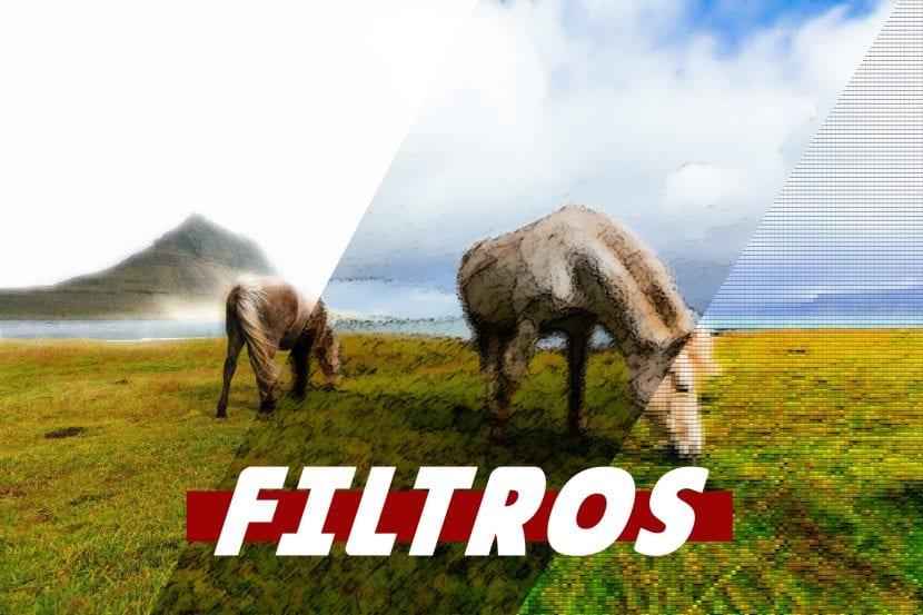 descubre como utilizar filtros en photoshop