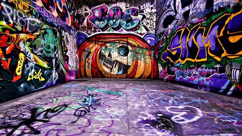 el graffiti es un arte urbano