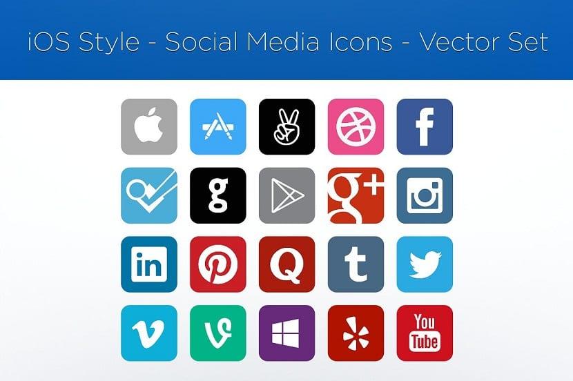 recursos gratuitos Vector media Icons