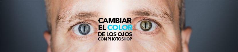 Cambiar de color de ojos es muy fácil en photoshop