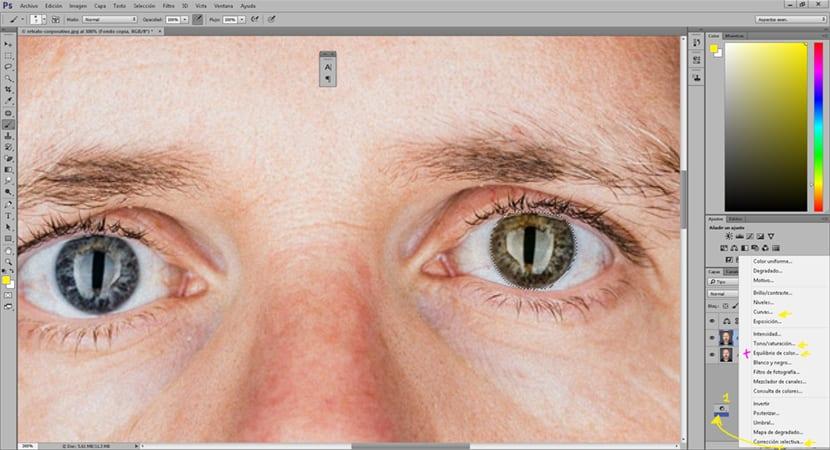 las capas de ajuste permiten hacer cambios en las fotografías de forma profesional