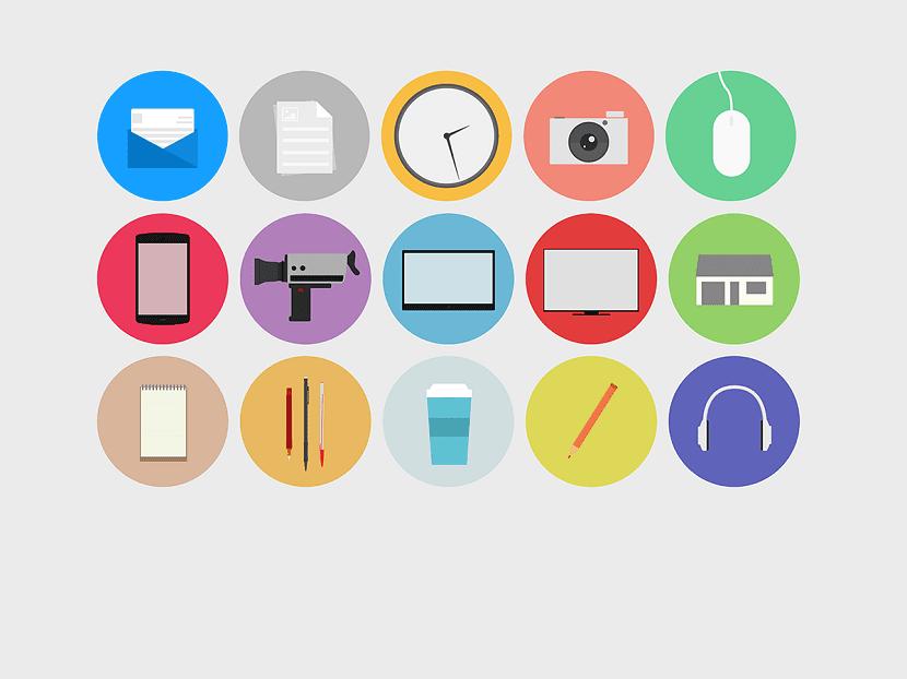 uso de iconos gratuitos
