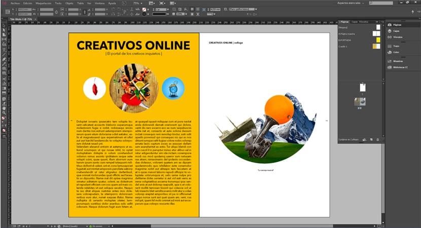 Después de crear una página maestra lo que hacemos es meter todo el contenido