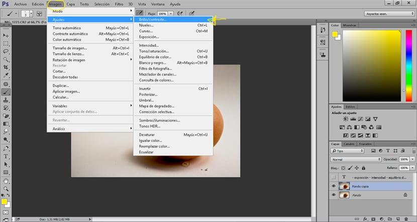 Mejora el brillo y el contraste de forma rápida en photoshop