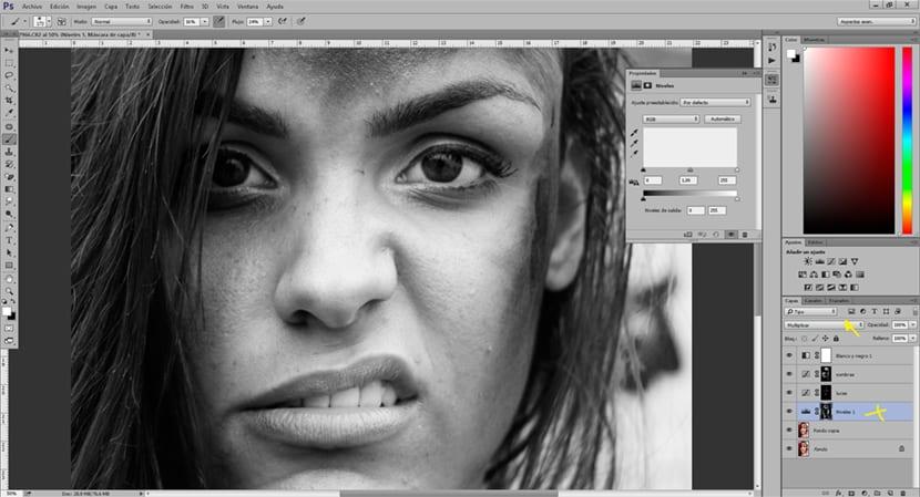Los niveles de photoshop nos ayudan a controlar los blancos y los negros de una imagen