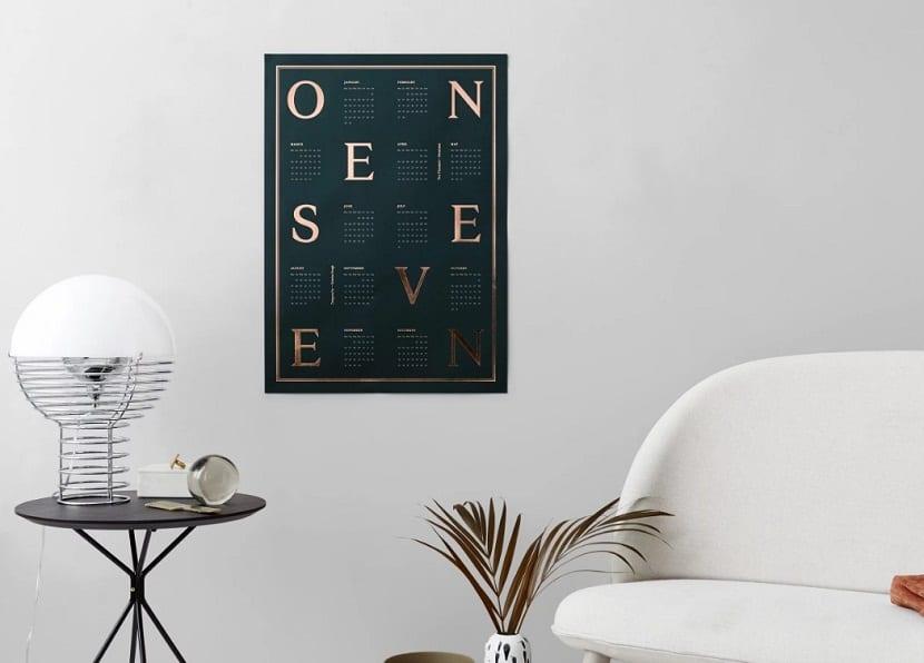 One Seven Calendar original