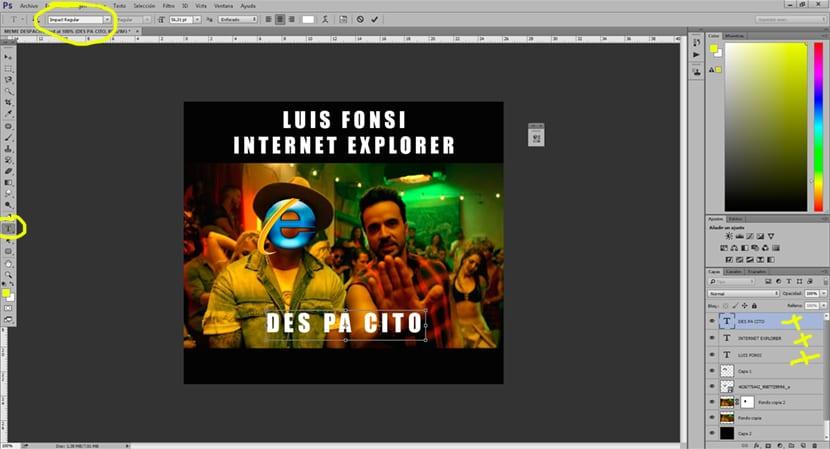 Los memes utilizan la tipografía Impact