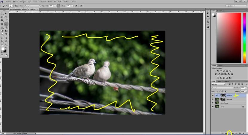 Crea un desenfoque en zonas puntuales con photoshop