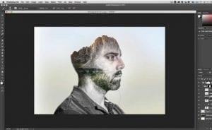 tutorial doble fondo photoshop