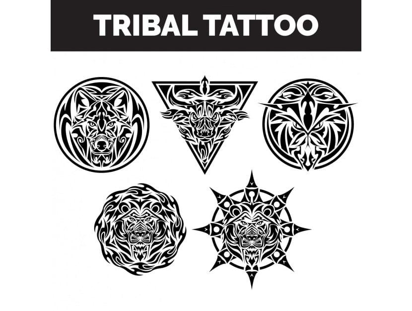 Colección de tatuajes tribales
