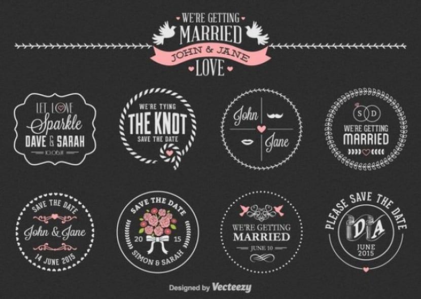 Conjunto de etiqueta de boda