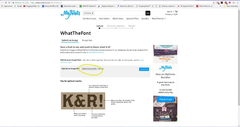 Descubre cuál es esa tipografía que tanto te gusta