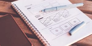 cinco diferentes herramientas de wireframing