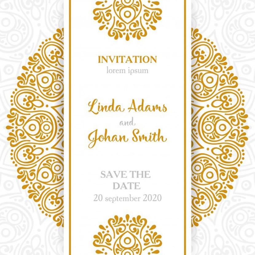 invitaciones de bodas para editar