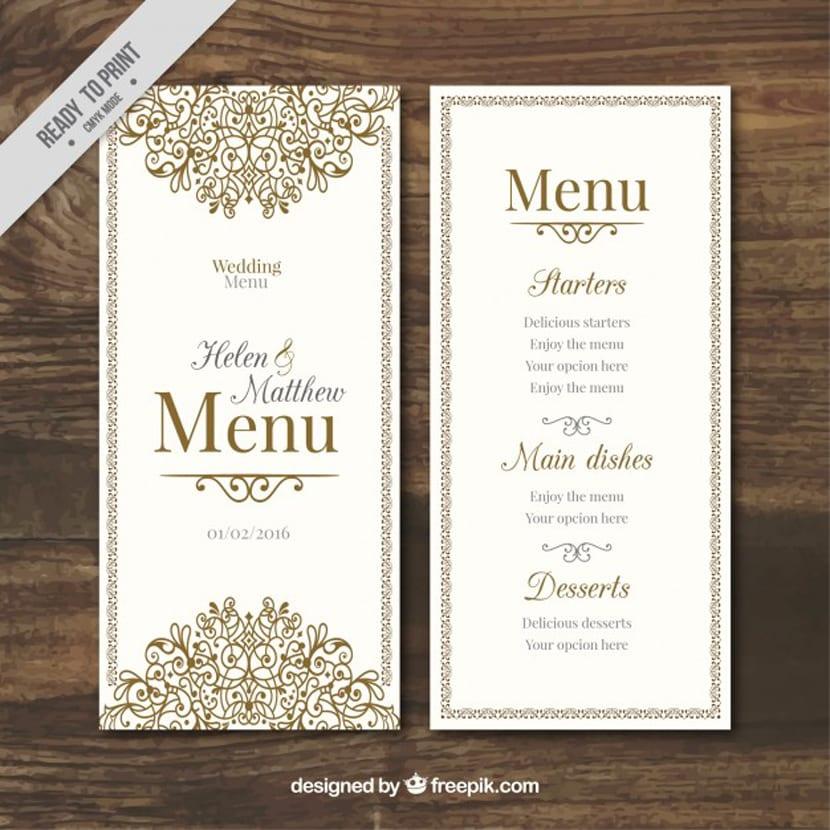 Invitaciones de boda GRATIS, descarga estas plantillas de invitaciones