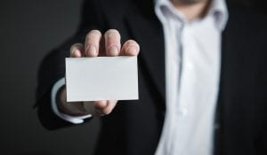 tarjetas de visita en el diseno