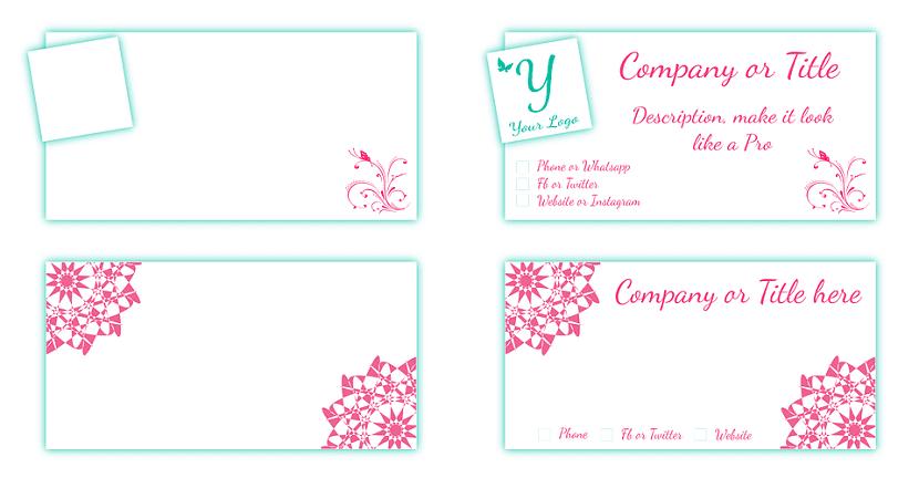disenos de tarjetas de visita