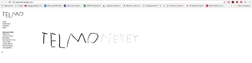 En la web personal de Telmo Pieper podemos ver todo su trabajo gráfico