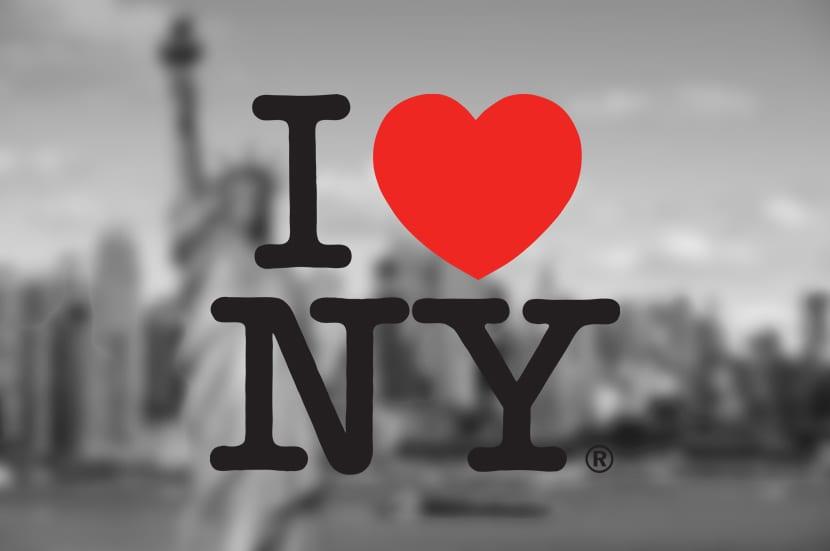 El diseñador e ilustrador Milton Glaser diseño la famosa frase de I love New York