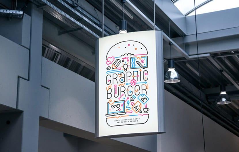 Áp phích quảng cáo trong nhà 02