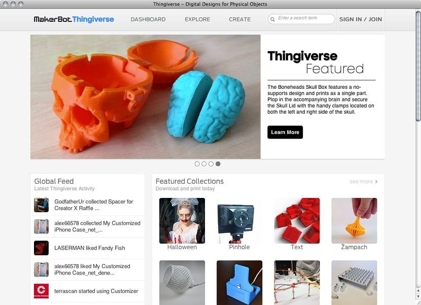mejores sitios web de recursos de plantillas de impresion en 3D