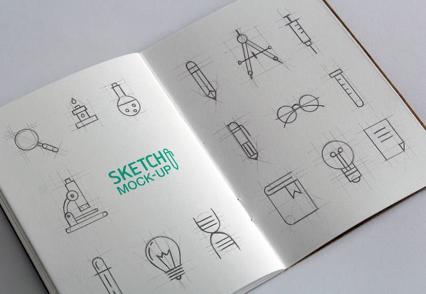 Bocetos para cuaderno