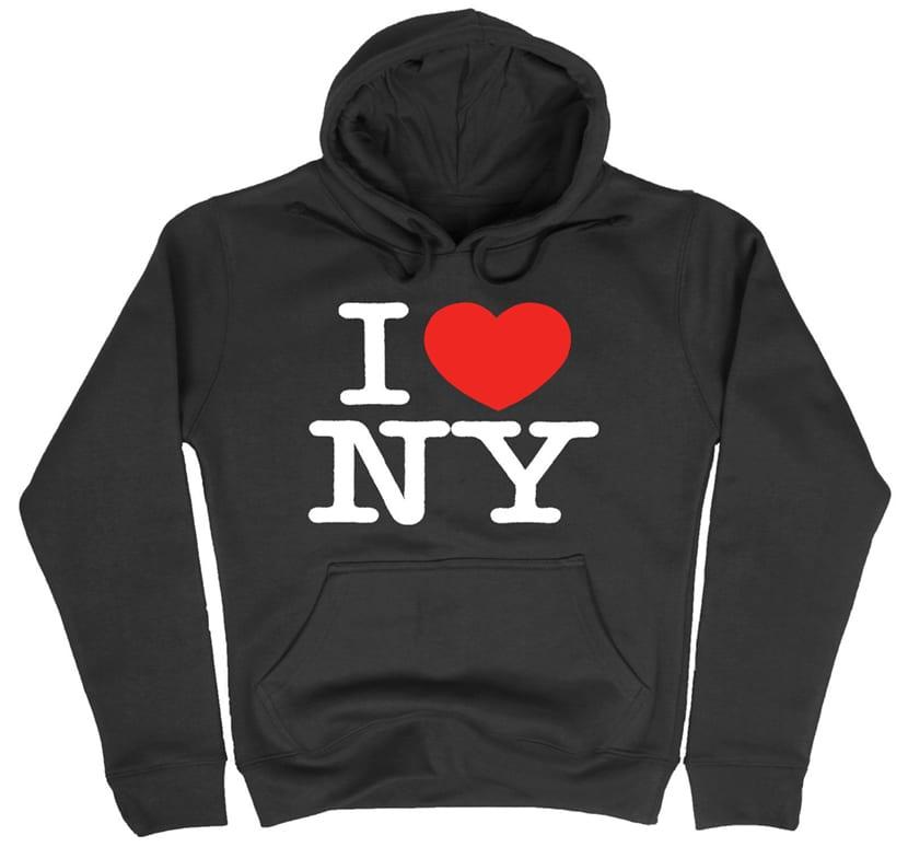 El logotipo de I love New York es usado en un gran numero de suvenirs