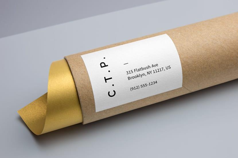 Empaquetado de tubo de cartón