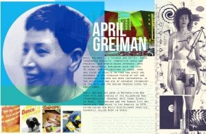 La gran disenadora April Greiman