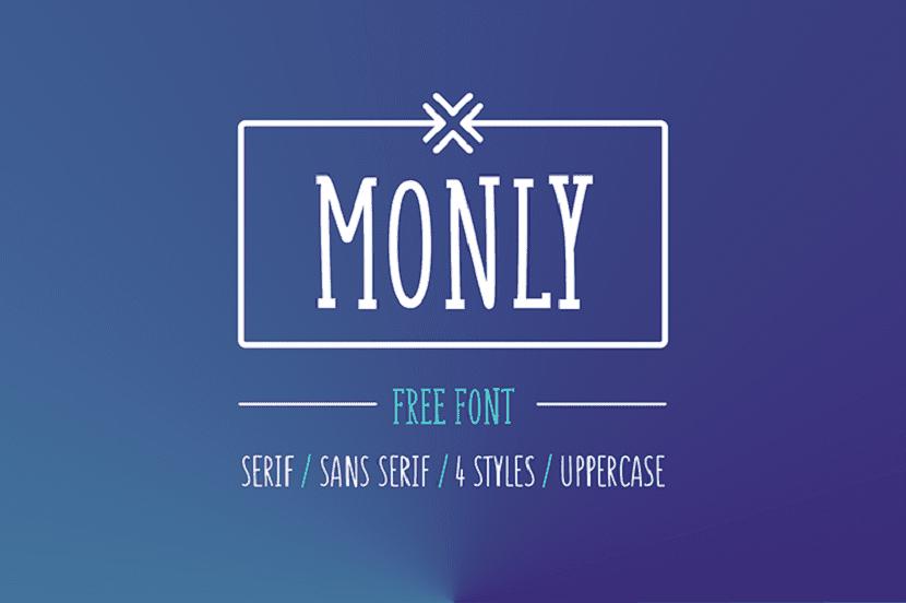 Fuentes Serif Gratuitas Monly