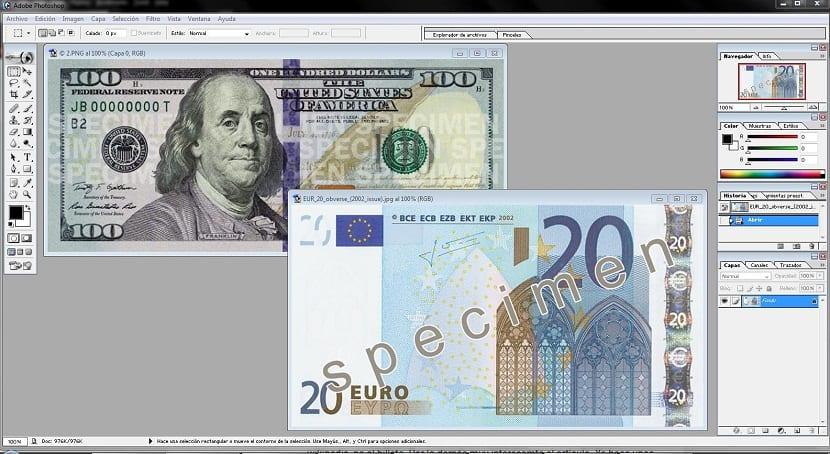 aplicacion para no abrir imagenes de billetes