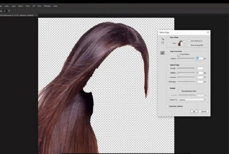 Cambiar color del cabello con Photoshop, Tutorial para cambiar color del cabello